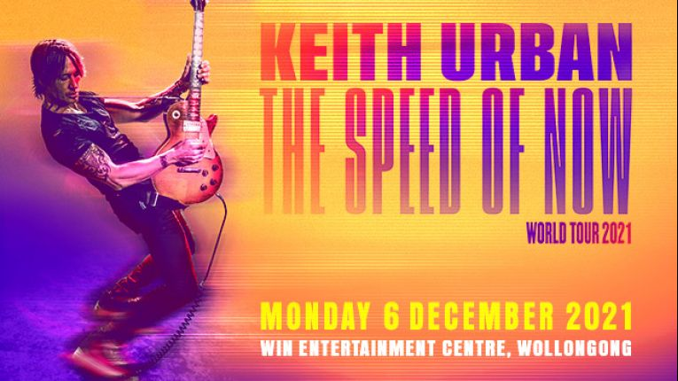 Keith Urban - The Speed of Now World Tour 2021